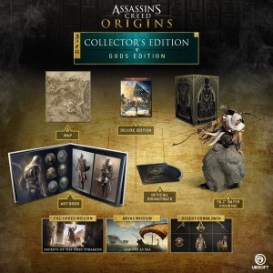 ASSASSIN'S CREED  GOD'S COLLECTOR'S EDITION - PS4 - PC - Xbox One
