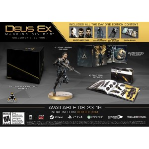 Deus Ex: Mankind Divided - Collector's Edition