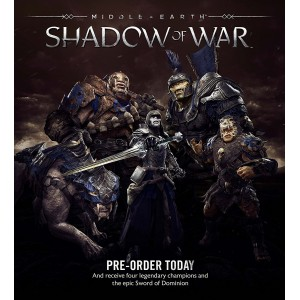 Middle-Earth: Shadow Of War Gold Edition - Steelbook Edition