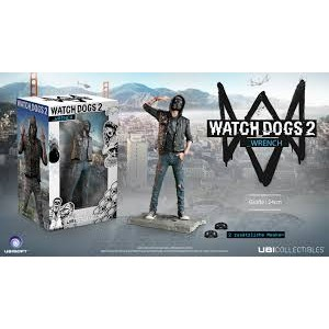 Ubisoft Watch Dogs 2 Wrench Figurine Statue