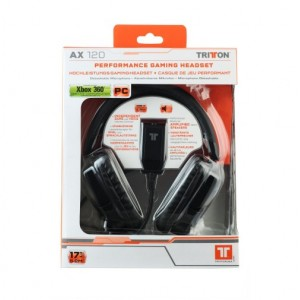 Mad Catz - Tritton - AX 120 Headset - XBOX 360 | PC